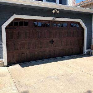 Garage Door-off-Track Repair